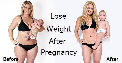 วิธีการลดน้ำหนักหลังคลอด